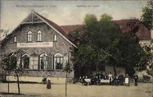 Ak Windischhausen Erfurt in Thüringen, Gasthof Zur Linde, Inh.... - 10035716