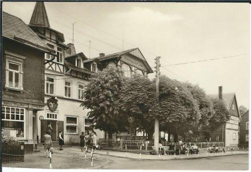 Ansichtskarte Finsterbergen - FDGB-Erholungsheim Zur Linde - schwarz/weiß