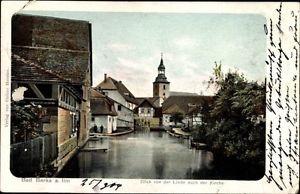 Ak Bad Berka Weimarer Land Thüringen, Blick von der Linde nach der... - 1444182