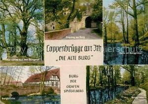72899930 Coppenbruegge Alte Burg Burggraben Bruecke Peter-Linde Burgwall  Coppen