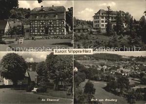 42601967 Wippra Gasthaus zur Linde Kinderheilstaette Ehrenmal Brauberg Wippra Ku