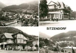 72963877 Sitzendorf Thueringen Ortsansicht HO Hotel Zur Linde FDGB Erholungsheim