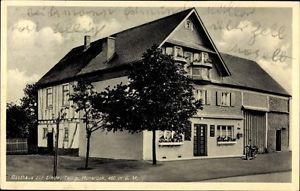 Ak Tellig im Hunsrück, Blick auf Gasthaus zur Linde, Jakob Lawen - 1050749