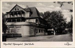 Ak Sitzendorf an der Schwarza in Thüringen, Blick auf das Hotel Linde - 1651833