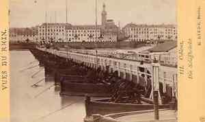 Cdv vue de Coblenz, E. Linde à Berlin vers 1870