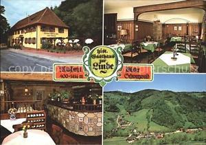 41601087 Muenstertal Schwarzwald Historisches Gasthaus Linde Panorama Muensterta