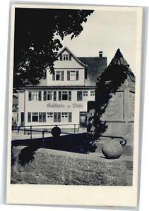40762443 Ebhausen Gasthaus Pension Linde * Ebhausen