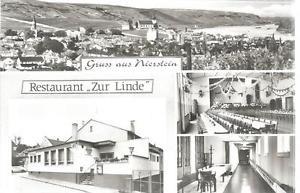 """(Mä/17/17) Alte Karte NIERSTEIN (1) Restaurant """"Zur Linde"""""""
