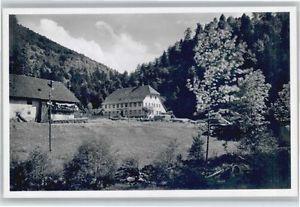 40730230 Oberprechtal Oberprechtal Hinterprechtal Gasthaus Pension Linde * Elzac