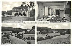 31841013 Untergeiersnest Gasthaus-Pension Zur Linde Gastraum Schondra-Tal Schond