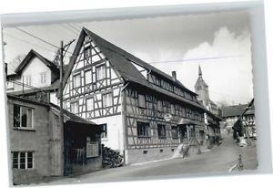 40713349 Waldulm Waldulm Gasthaus Linde * Kappelrodeck
