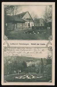 254963) AK Hotel zur Linde Steinbergen bei Rinteln