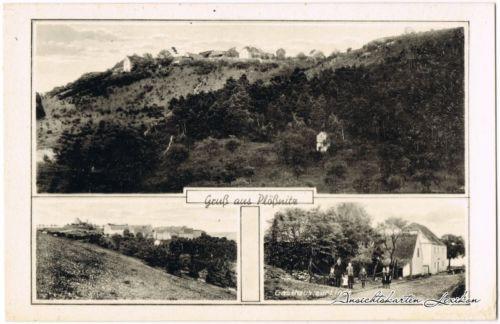 Laucha an der Unstrut 3 Bild:  Gasthof zur Linde b Weißenfels Naumburg 1939