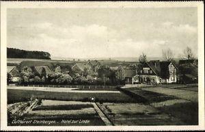 Ak Steinbergen Rinteln an der Weser Kreis Schaumburg, Hotel zur Linde - 1266316