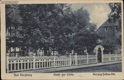 Bad Harzburg - Hotel Zur Linde, Herzog-Julius-Str.