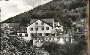 40176457 Hirschhorn Neckar Hirschhorn Gasthaus Pension Linde ungelaufen ca. 1955