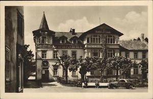 41246742 Finsterbergen Volkshaus Hotel Zur Linde Auto Finsterbergen Thueringer W