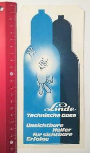 Aufkleber/Sticker: Linde - Technische Gase (120616135)