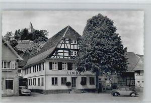 40713350 Kappelrodeck Kappelrodeck Gasthof Linde * Kappelrodeck