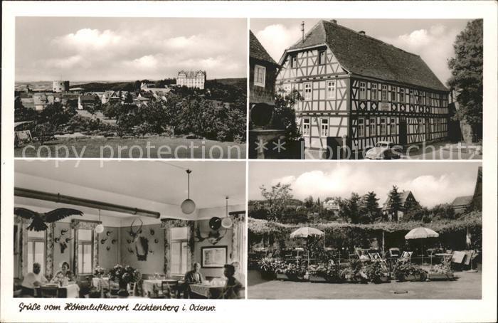 41584910 Lichtenberg Odenwald Ansichten Gasthaus Pension Zur Linde Fischbachtal