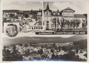 Finsterbergen Volkshaus  Linde  s/w
