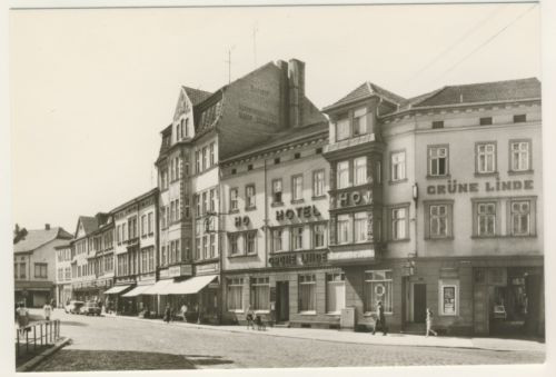 AK _ Mühlhausen - HO Gaststätte Grüne Linde _zo649