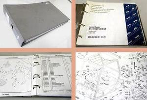 Ersazteilkatalog Linde E14 E16/C/P E18C/P E20P-02 Stapler Ersatzteilliste 2001