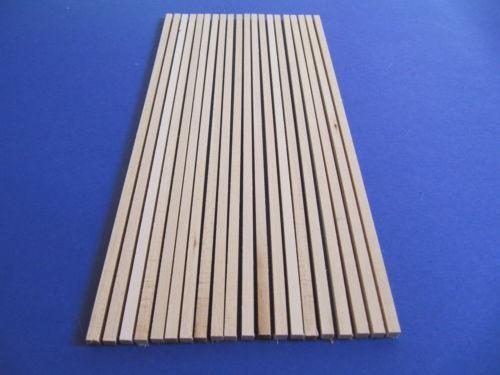 Vierkantleiste Linde A- und B-Ware  6x6x345mm  20 Stück