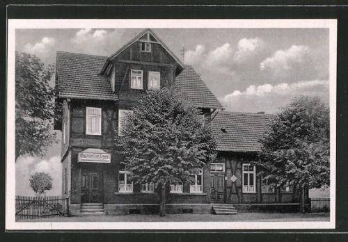 tolle AK Allendorf, Gasthof zur Linde, Inh. Heinrich Schaub