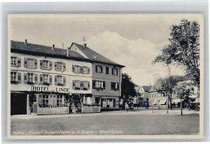 40700466 Bad Sobernheim Bad Sobernheim Marktplatz Hotel zur Linde x Bad Sobernhe