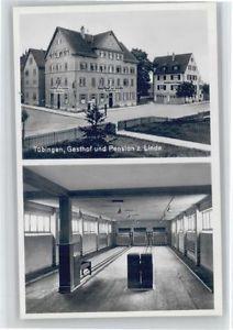 40710324 Tuebingen Tuebingen Gasthof Pension zur Linde Kegelbahn * Tuebingen