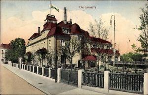 Ak Oetzsch Markkleeberg in Sachsen, Straßenpartie, Zur Linde - 10036846
