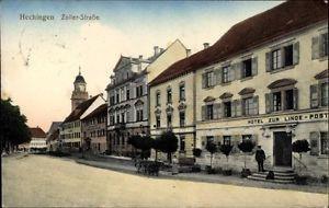 Ak Hechingen Baden Württemberg, Zollerstraße, Hotel zur Linde... - 10053214