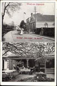 Ak Schenefeld im Kreis Pinneberg, Gasthof Zur Linde, W. Harder - 1253193