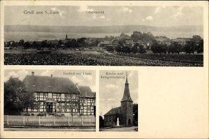 Ak Sillium Holle Niedersachsen, Gasthof zur Linde, F. Meyer,... - 1250681