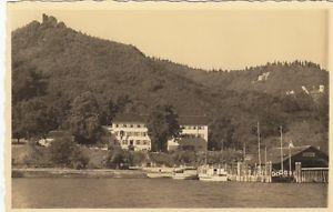 Bodman am Bodensee, Ruine Bodmann und Hotel Linde gl1942 E6740