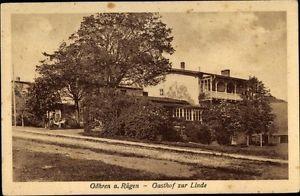 Ak Ostseebad Göhren auf Rügen, Gasthof zur Linde - 1657917