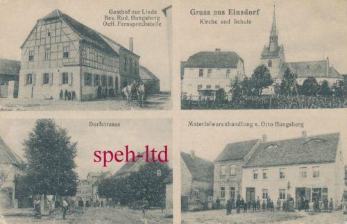 AK / Einsdorf ( Mittelhausen )Gasthof zur Linde, Dorfstr., Materialwarenhandlung