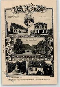 52245988 - Oggersheim Schiller Denkmal Linde Kriegerdenkmal Gartenhaus Wohnung