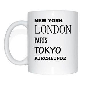 New York, London, Paris, Tokyo, KIRCH-LINDE Cup Of Coffee