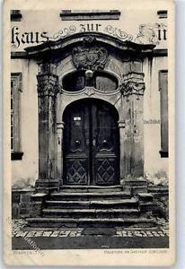51384575 - Bad Wimpfen Haustuer am Gasthaus zur Linde Preissenkung