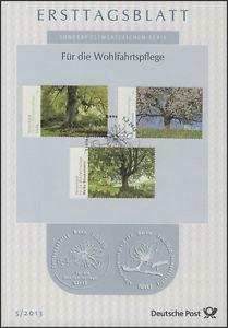 ETB 05/2013 Für die Wohlfahrtspflege, Bäume Linde, Vogelkirsche, Rosskastanie
