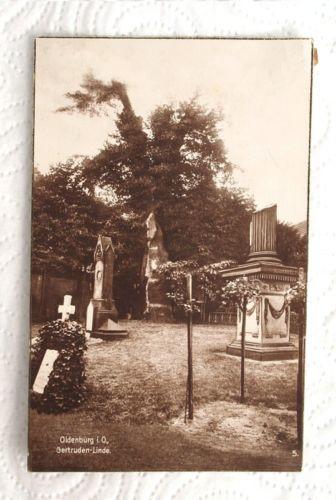 AK, Ansichtskarte, Oldenburg i. O., Gertruden-Linde, Trinks-Postkarte, um 1905