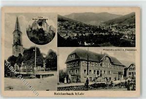 52342621 - Reichenbach , Kr Lahr, Schwarzw Gasthaus Zur Linde A.Himmelsbach Ruin