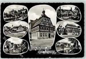 52073022 - Sinsheim , Elsenz Kreispflege Anstalt Cafe Linde Rathaus Gasthaus zum