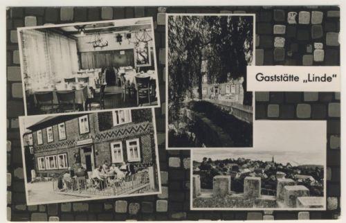AK _ Horba - Gaststätte Linde - Kleinformat 1966 _am457