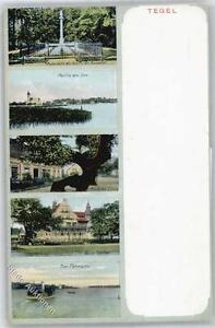 51082188 - Tegel Ruhestaette der Familie Humboldt, Partie am See, Kurmme Linde,