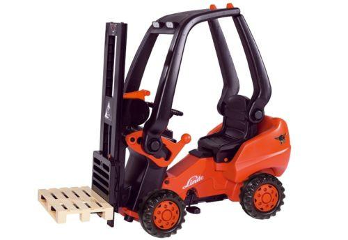 BIG Linde Forklift Baureihe 394 Kinder Gabelstapler Stapler Tretfahrzeug