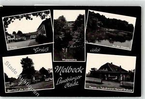 52154749 - Melbeck Schule Gasthaus Zur Linde Wassermuehle Ilmenau