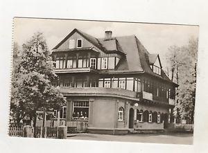 C-3 / Alte Ansichtskarte DDR Sitzendorf HO Hotel Zur Linde